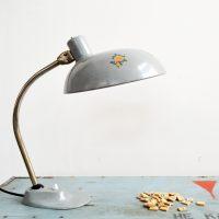 Loft design Kaiser Idell desk lamp office lamp industrial asztali lámpa ipari industrielle Tischlampe ipari hivatali lámpa asztali lámpa shabby chic rusty style artkraft