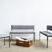 Loft design szögletes ülő szett abgewinkelte Sitzgarnitur angled seat set kárpitos pad szék upholstered bench seat gepolsterte Sitz Bank ipari indusrial industriell artkraft