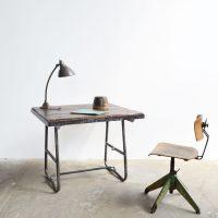 Loft design csővázas íróasztal tubular Desk rohrförmigen Schreibtisch étkezőasztal Esstisch dining table ipari industrial industriell shabby chic rusty style artkraft