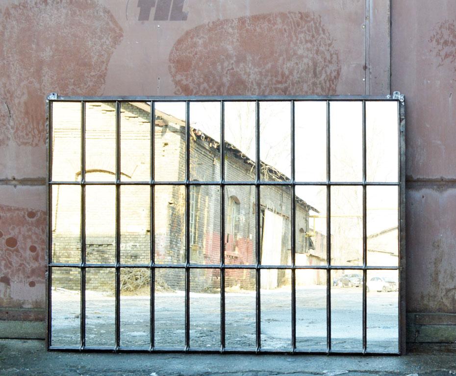 Loft Fenster window mirror artkraft loftdesign