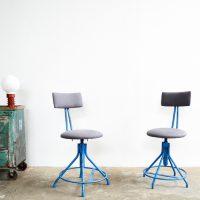 Loft design ipari forgószék műhelyszék Industrial factory chairs Fabrik Stuhl ipari industrial industriell shabby chic rusty style artkraft