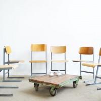Loft design Régi iskolai szék Schulstühle School chair étkezőszék dolgozószék working chair dining chair Arbeitsstuhl Esszimmerstuhl