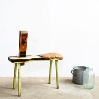 Loft design cipész ülőke shoemaker seat Schuster Sitz ipari industrial industriell shabby chic rusty artkraft