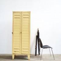 Loft design kétajtós öltözőszekrény zweitürigen Kleiderschrank two-door wardrobe fém iron Metall ipari industrial industriell shabby chic rusty style artkraft