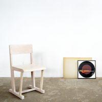 Loft design Bauhaus Heisler wooden chair Bauhaus Stuhl Holzstuhl faszék dolgozószék working chair Arbeitsstuhl ipari industrial industriell shabby chic rusty style artkraft