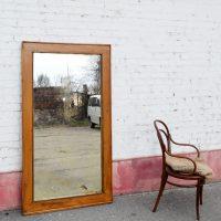 Loft design nagyméretű állótükör large standing mirror großer stehender Spiegel ipari industrial industriell shabby chic rusty style artkraft