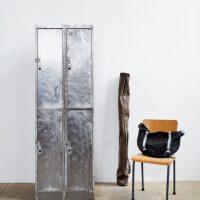Loft design nagy sokajtós vasszekrény Eisenschrank iron cabinet öltözőszekrény locker ipari industrial industriell shabby chic rusty style artkraft