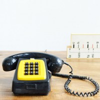 Loft design régi telefon old phone alten telefon ipari industrial industriell shabby chic rusty style artkraft