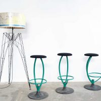 Loft design Ipari kárpitozott bárszék industrial upholstered bar stool chair gepolsterten Barhocker industrial industriell shabby chic rusty style artkraft