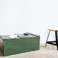 loft design ipari láda kisasztal dohányzó industrial coffee table industrie fabrik Couchtisch box ipari industrial industriell shabby chic rusty style artkraft
