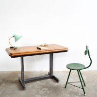 Loft design rajzasztal Zeichentisch drawing table íróasztal desk Schreibtisch ipari industrial industriell shabby chic rusty artkraft