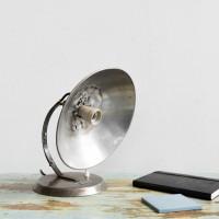Loft design Siemenes asztali lámpa Tischlampe table lamp ipari industrial industriell shabby chic rusty artkraft