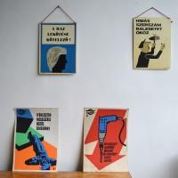 loft design régi ipari plakát munkavédelmi old safety industrial osh poster industrie fabrik altes Plakat Arbeitsschutz