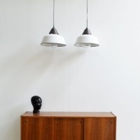 Loft design Régi ipari zománc lámpa Emaille Lampe enamel lamp old industrial lamp Indistrielampe