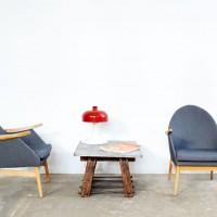 Loft design szürke retró fotel gray retro armchair grau retro Sessel olvasófotel Sessel zum Lesen armchair for reading pari industrial industriell shabby chic rusty style artkraft