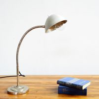 Loft design francia asztali lámpa Französische Tischlampa French table lamp ipari industrial industriell shabby chic rusty style artkraft