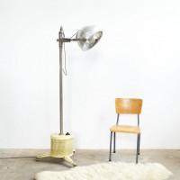 Loft design Hanau régi állólámpa ipari Industrie Stehlampe Industrial floor lamp