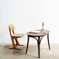 Loft design thonet gyerekasztal children's table Kindertisch dohányzóasztal coffee table Couchtisch ipari industrial industriell shabby chic rusty style artkraft