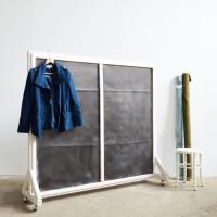 Loft design régi paraván alt Paravent old folding screen