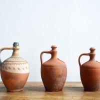 Loft design agyag vízhordóedény wasserführende Tontopf water-bearing clay pot dekoráció dekoration decoration