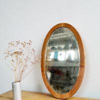 Loft design ovális tükör ovaler Spiegel Oval mirror dekoráció dekoration decoration ipari industrial industriell shabby chic rusty style artkraft