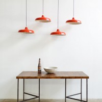 Loft design retró piros lámpa graceful retro red light würdevolle Retro rotes Licht mennyezeti lámpa Deckenleuchten ceiling Lights