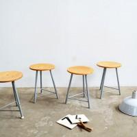 Loft design Ipari ülőke műhelyszék Werkstatt hocker Workshop stools