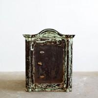 Loft design régi szék trezor alt Safe old safe Deposit Box