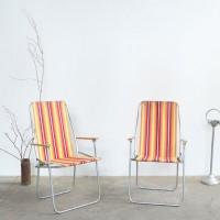 Loft design régi ipari indusrial industriell kempingszék camp chair Campingstuhl shabby chic rusty style artkraft