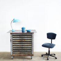 Loft design Ipari szekrények sokfiókos Industrial cabinet with drawers industriell Schubladenschränk shabby chic rusty style artkraft