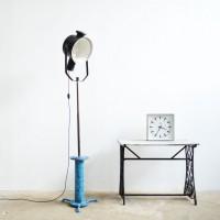 Loft design reflektor állólámpa reflector floor lamp Reflektor-Stehlampe ipari industrial industriell artkraft
