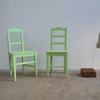 Loft desgn Régi asztal szék paraszti ipari Stuhl Industrie Bauer Industrial peasant chair