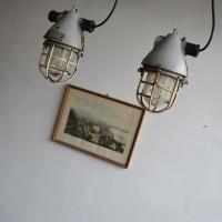 Loft design Ipari robbanásbiztos lámpa Industrial factory lamps Industrie fabrik lampen