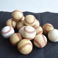 Loft design régi bőr baseball labda Old leather baseball Alte Leder Baseball dekoráció decoration Dekoration