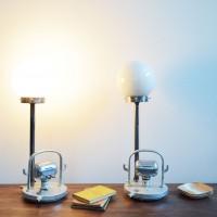 Loft design gömb búrás asztali lámpa spherical Table Lamp shades Sphere Tischlampenschirme olvasólámpa Leselicht reading lamp