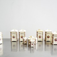 Loft design kerámia fűszertartó szett ceramic spice rack set Keramik Gewürzregal Set dekoráció dekoration decoration