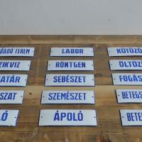 loft design régi zománctábla alte Emailleschilder old enamel signs