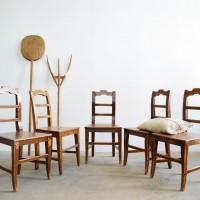 Loft design wooden chair country vintage style Furniture Holzstuhl Landhausstil Möbel vidéki stílus egyszerű faszék paraszti népi bútor