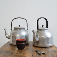 Loft design régi ipari indusrial industriell teáskanna teapot kettle Teekanne dekoráció decoration Dekoration