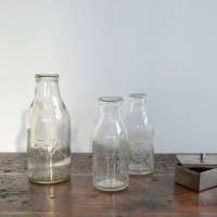 Loft design régi industrial ipari industriell tejesüveg milk bottles Milchflaschen
