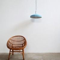 Loft design világoskék mennyezeti lámpa light blue ceiling lights hellblau-Deckenleuchten