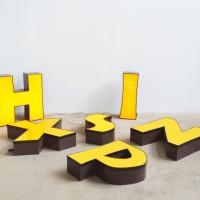 Loft desing ipari dekoráció decoration Dekoration neon betű Neon-Buchstaben neon letters industrial