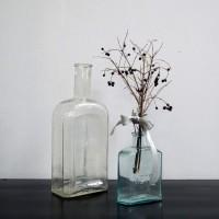 loft design gyógyszeres üveg medicine glass Medizin Glas virágváza Blumentopf flowerpot dekoráció Dekoration decoration