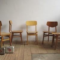 Loft design Ipari régi faszékek old industrial wood chair alte Industrie holz stuhl