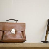 Loft design bag vintage bőr aktatáska vintage leather briefcase Vintage Leder Aktentasche