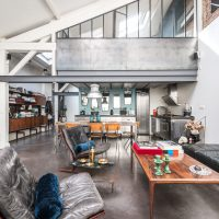 (English) loft design artkraft industrial interior gyár loft factory industrie fabrik interior, elegant, eclectic, eclectische, rustic, antique, vintage, dark, warehouse, workshop
